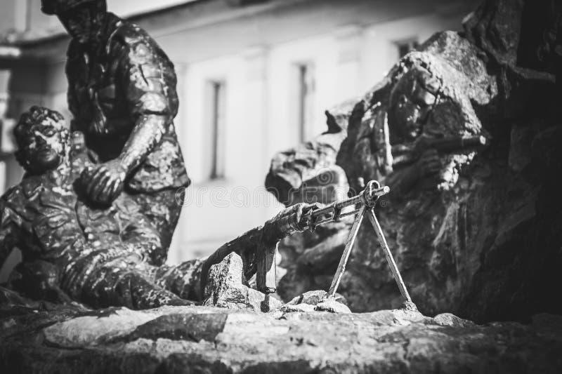 Monument aux soldat-Afghans image libre de droits