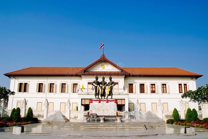 Monument av chiangmaien Thailand royaltyfria bilder