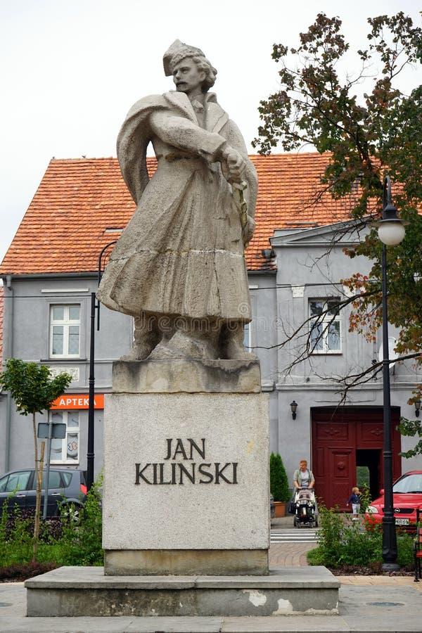 Monument av Jan Kilinski arkivfoton