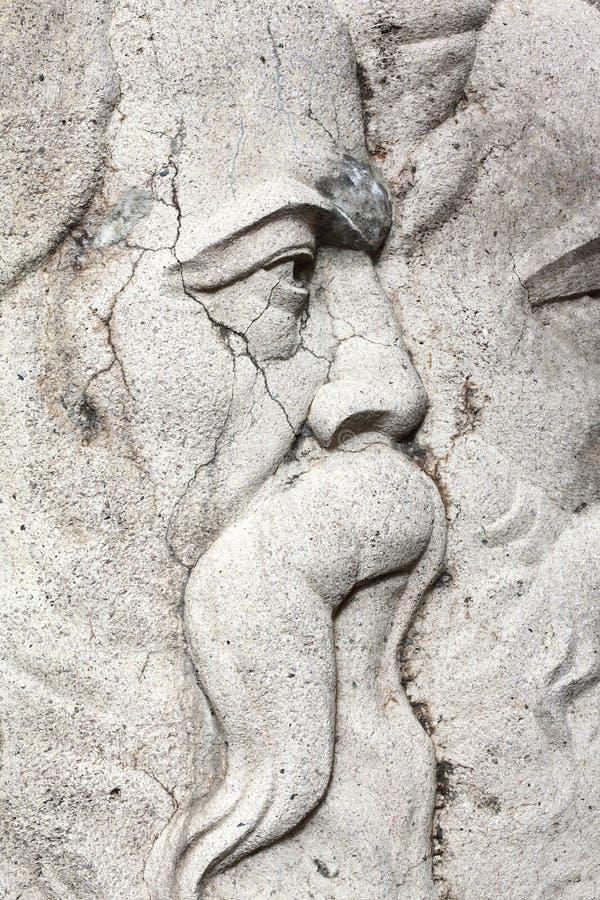Monument av Lenin, Marx och Engels royaltyfria foton