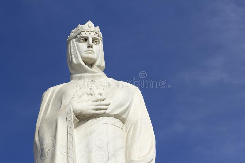 Monument av princess olga royaltyfria bilder