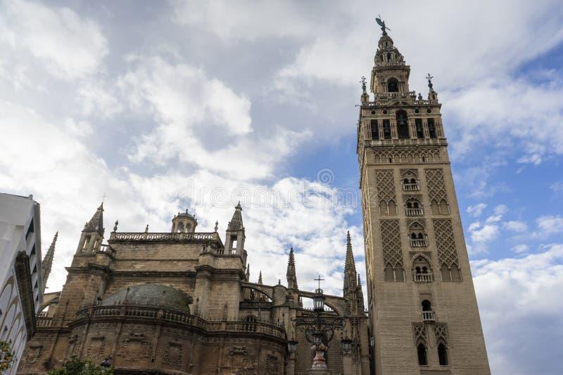 Monument av Seville, Andalusia royaltyfria bilder