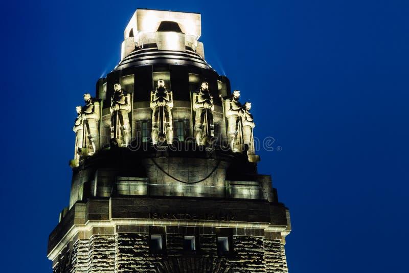 Monument av striden av nationer royaltyfria foton