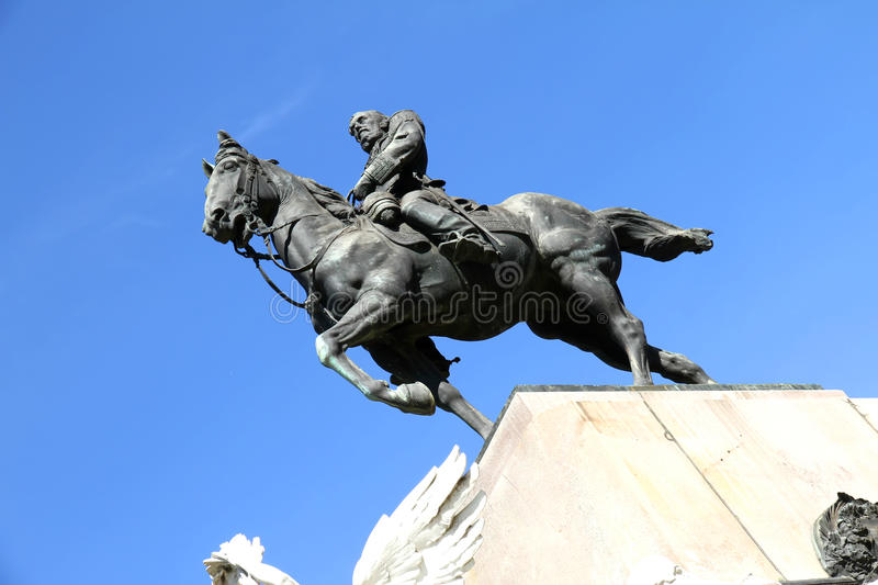 Monument of Bartolome Mitre in Buenos Aires. Historical Monument of Bartolome Mitre in Buenos Aires, Argentina, South america royalty free stock photos