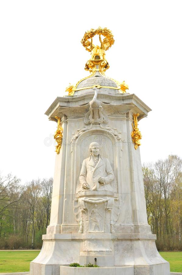 Monument in Berlin, Germany royalty free stock photos