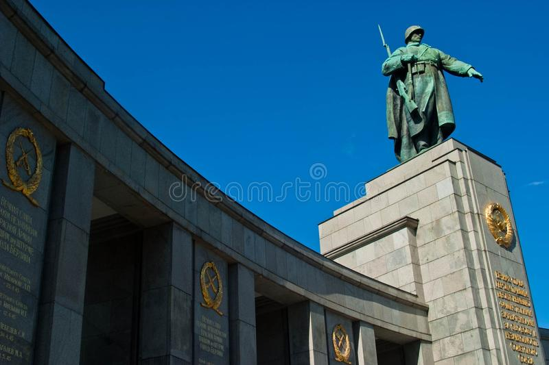 Monument in Berlin stock photos