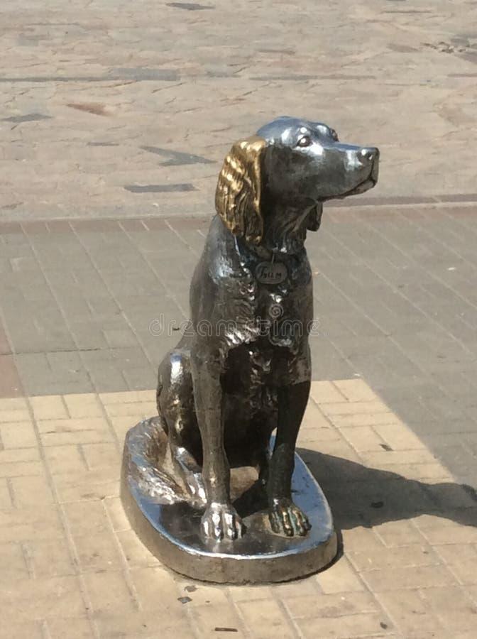 Monument Bim in Voronezh Russia stock image