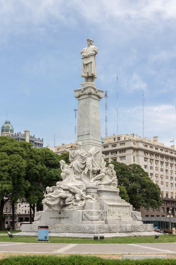 Monument Buenos Aires de Columbus images libres de droits