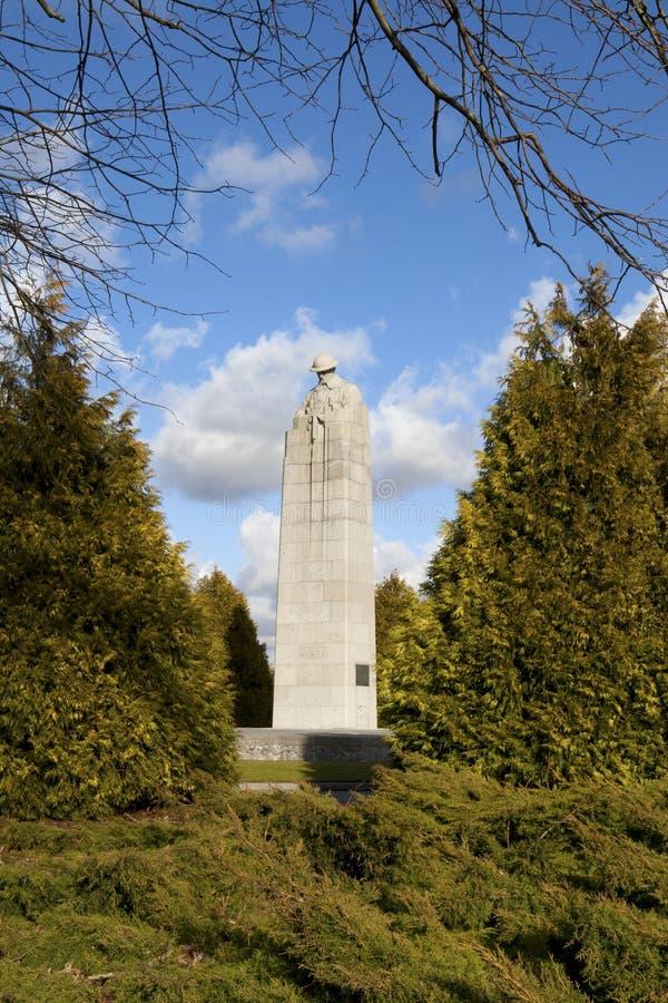 Monument canadien dans la rue Juliaan images stock