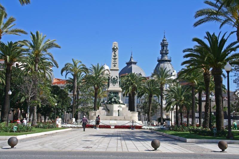 Monument Carthagène photo libre de droits