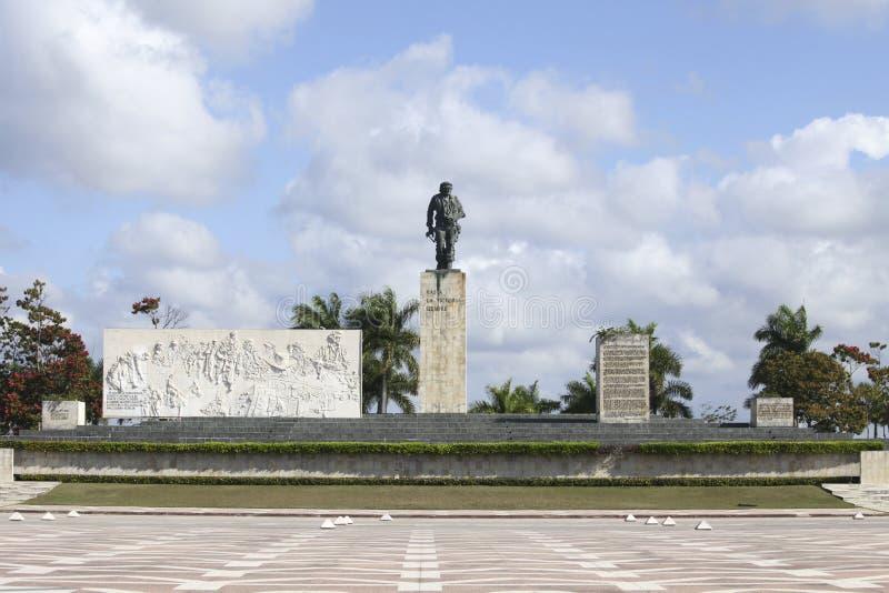 Monument for Che Guevara in Cuba. Che Guevara Monument, Plaza de la Revolution in Santa Clara, Cuba stock photo