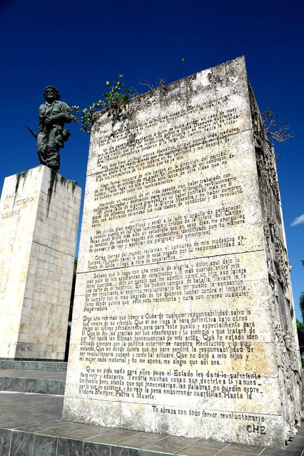 Monument of Che Guevara. The monument of Che Guevara in Santa Clara, Cuba stock photo