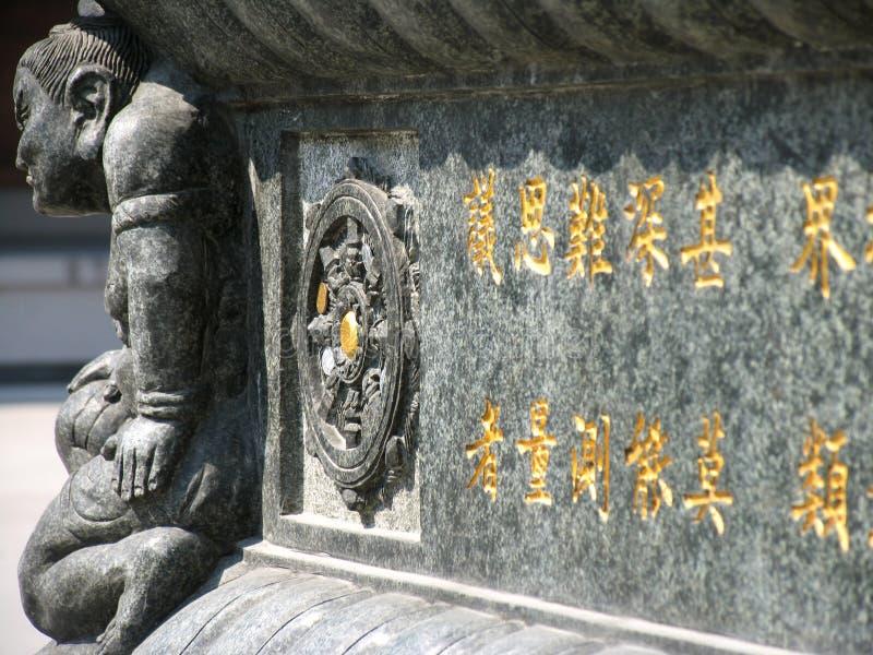 Monument chez Jing un temple image libre de droits