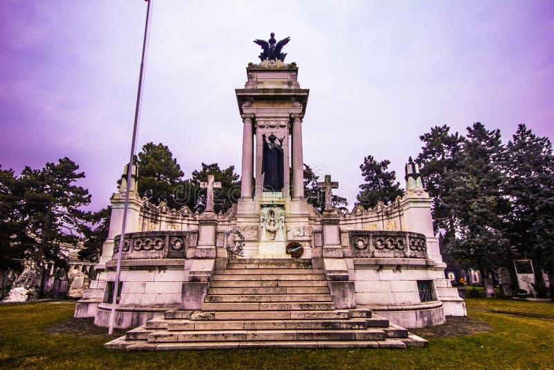 Monument commémoratif de la première guerre mondiale photos stock