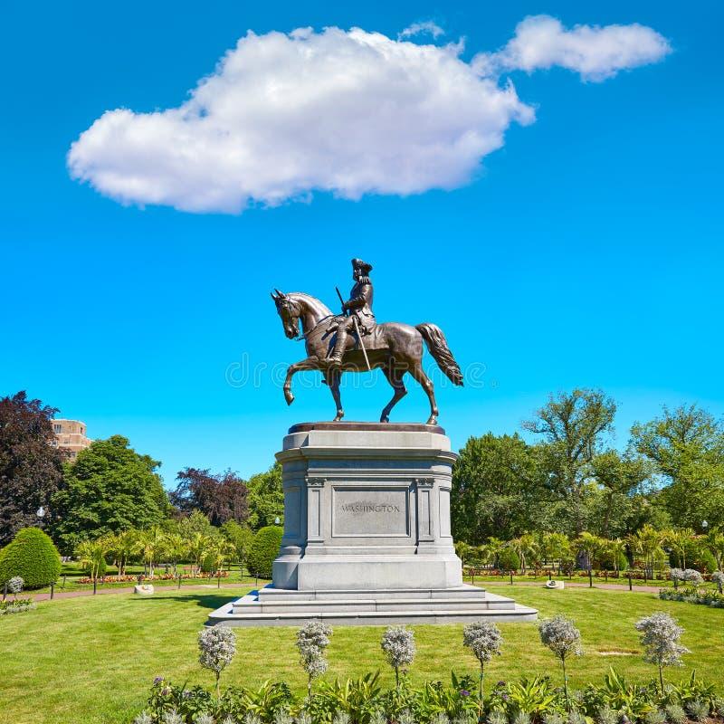 Monument commun de Boston George Washington photo libre de droits