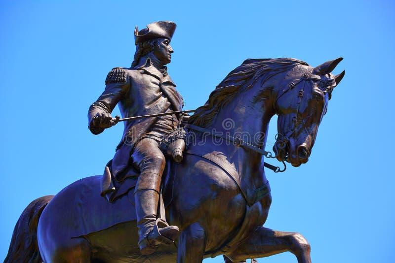 Monument commun de Boston George Washington images stock