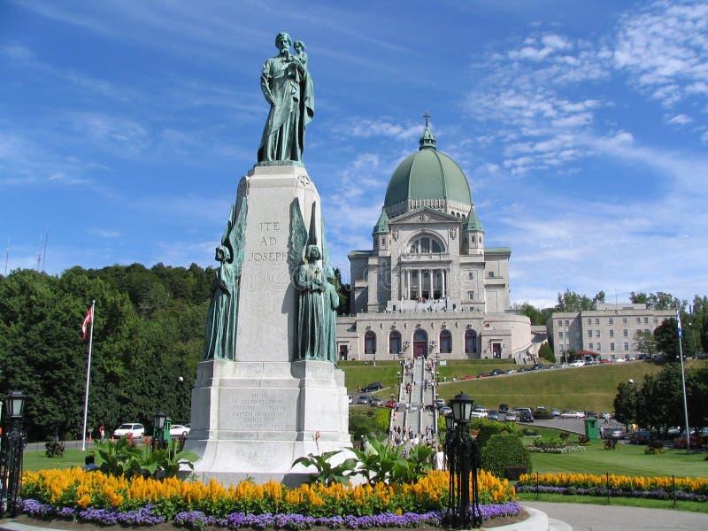 Monument d'éloquence de StJoseph et de StJoseph, Montréal images stock