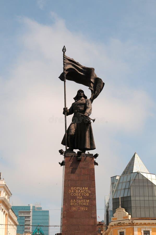 Monument d'armée rouge photo libre de droits