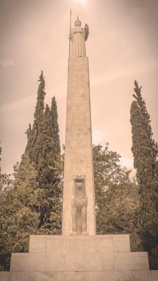 Monument d'Athena Parthenos photos libres de droits