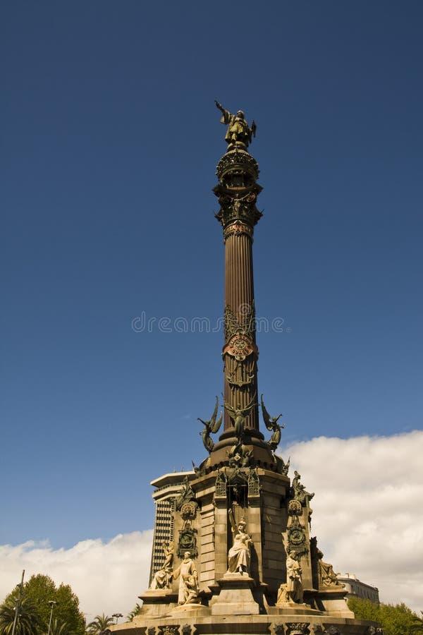 Monument de Columbus image stock