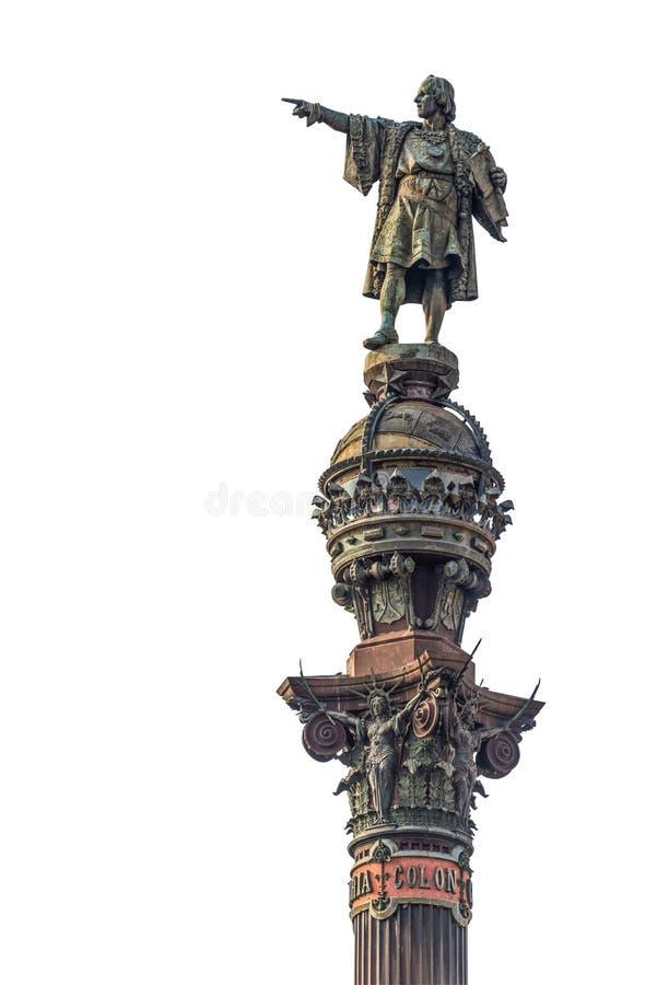 Monument de Columbus, Barcelone photographie stock