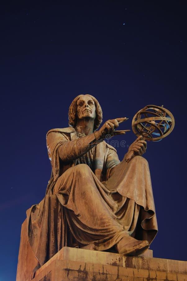 Monument de Copernic images stock