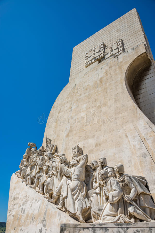 Monument de découverte à Lisbonne, Portugal photos stock