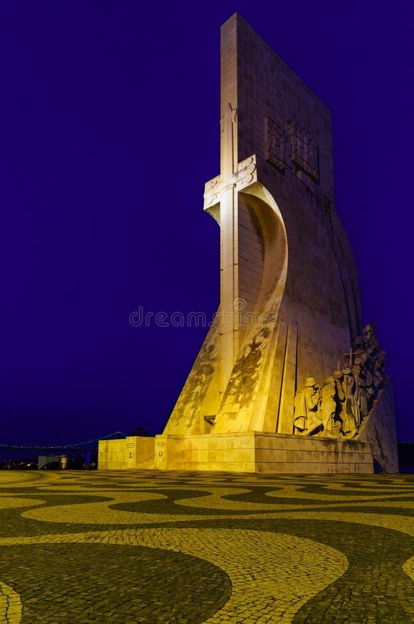 Monument de découvertes de mer à Lisbonne photographie stock