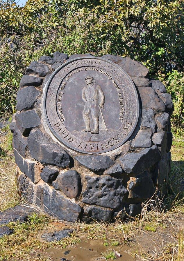 monument de David Livingston à photo libre de droits