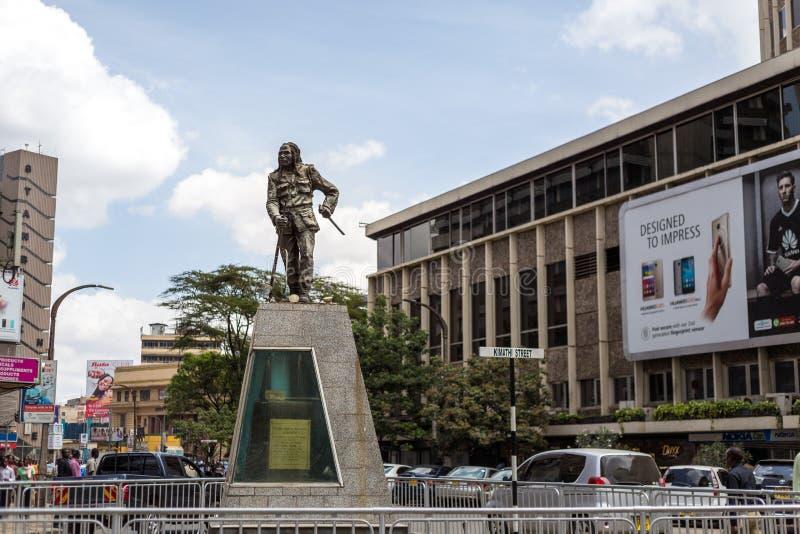 Monument de Dedan Kimathi photo libre de droits