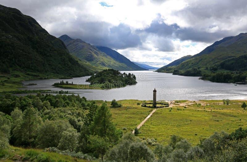 Monument de Glenfinnan image stock