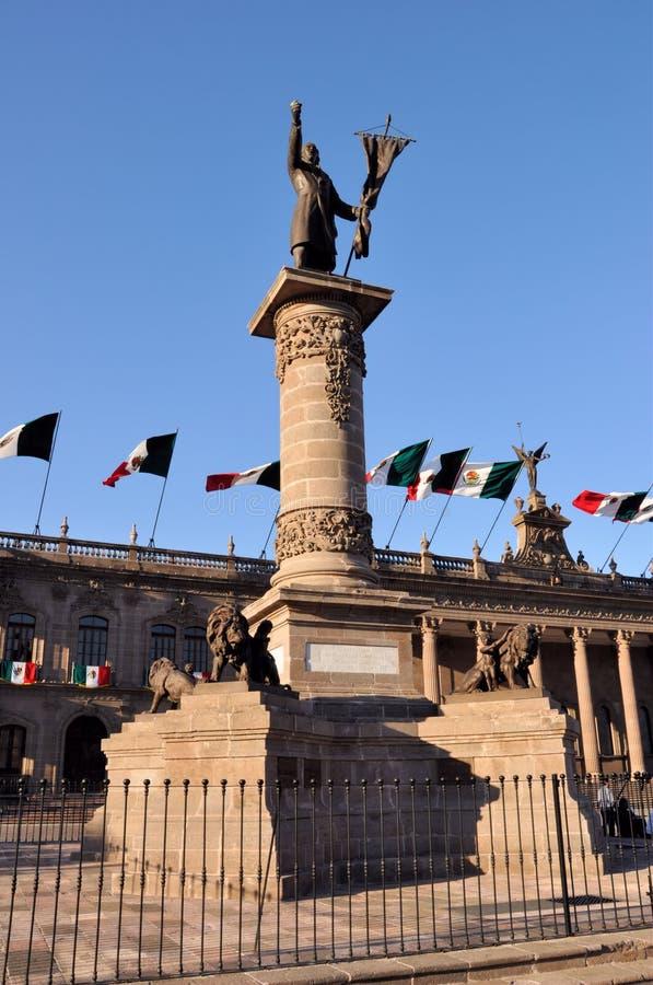Monument de Hidalgo de Miguel photo stock