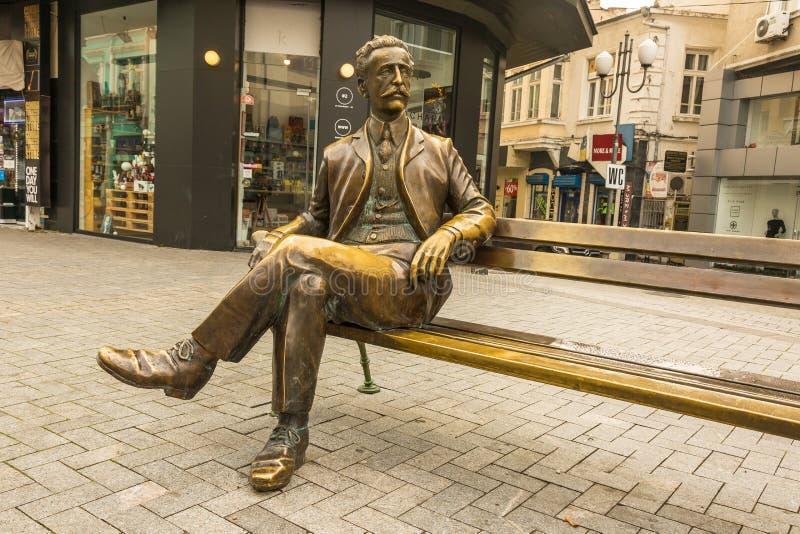 Monument de l'architecte bulgare Dabko Petrov photographie stock libre de droits