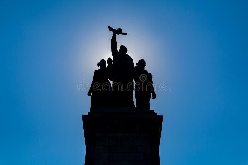 Monument de l'armée soviétique II photographie stock libre de droits