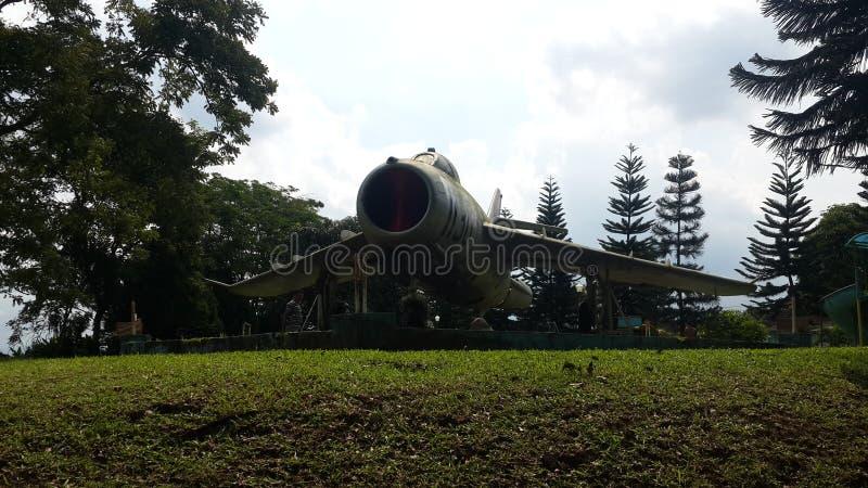 Monument de l'avion MIG17 photo libre de droits