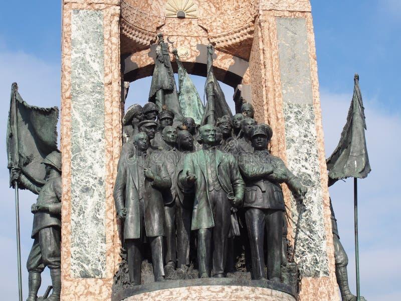 Monument de l'indépendance de Taksim photographie stock libre de droits