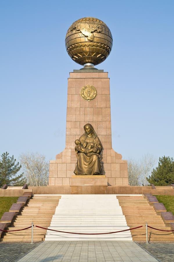 Monument de l'indépendance et d'humanisme image stock