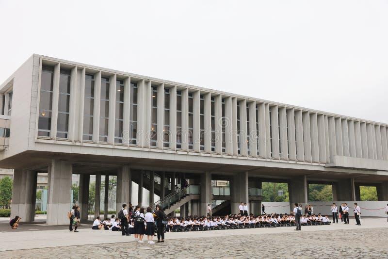 Monument de la paix des enfants à Hiroshima, Japon photos stock