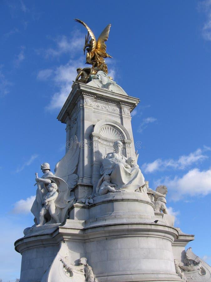 Monument de la Reine Victoria images libres de droits