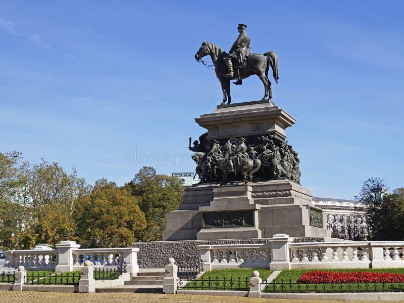Monument de libérateur de tsar photographie stock libre de droits