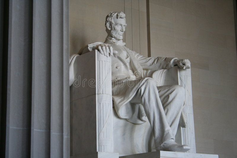 Monument de Lincoln images stock