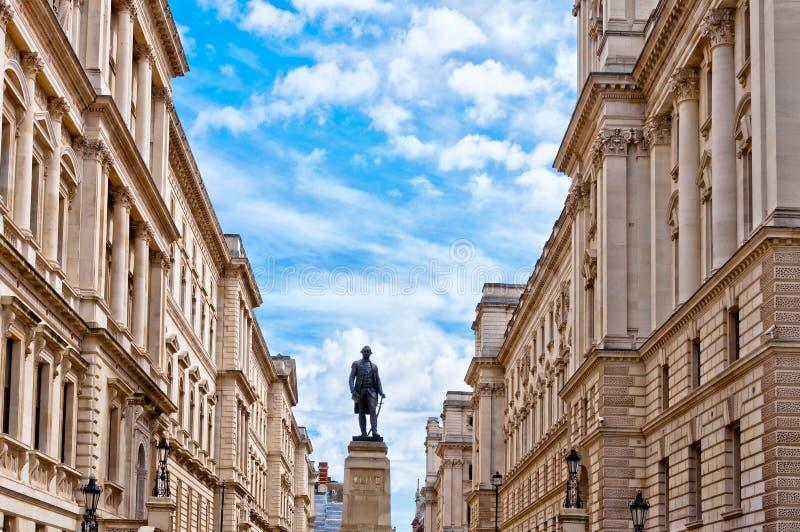 Monument de Lord Clive à Londres, R-U photographie stock