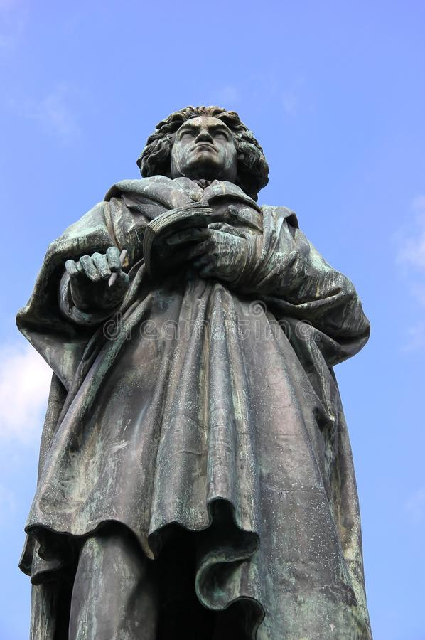 Monument de Ludwig Van Beethoven photographie stock libre de droits