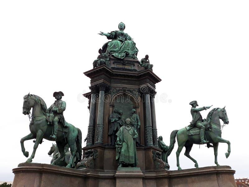 Monument de Maria Theresia photos libres de droits