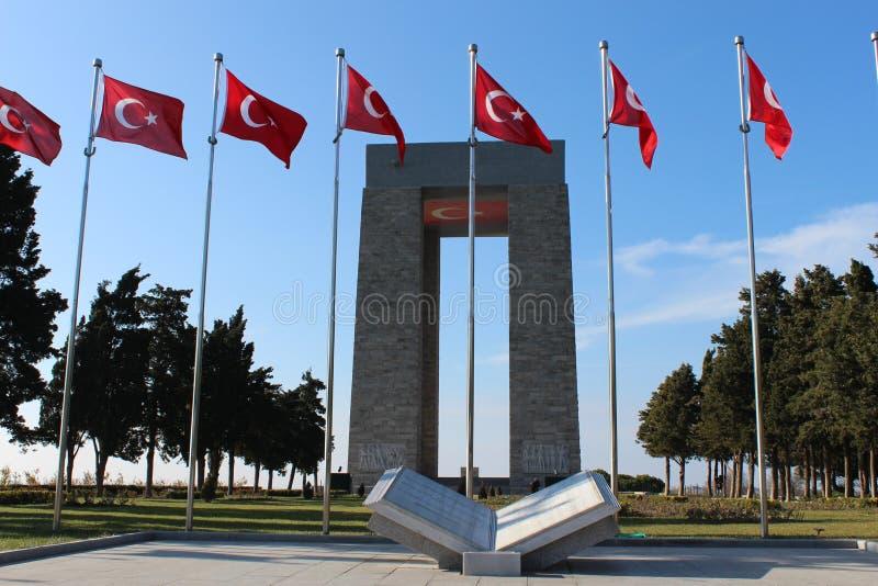 Monument de martyres image stock