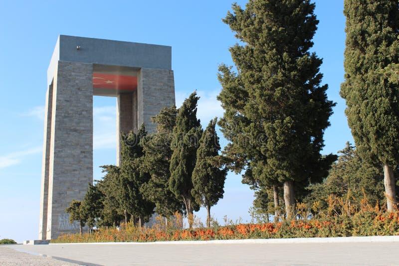 Monument de martyres photographie stock libre de droits