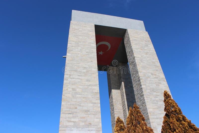 Monument de martyres image libre de droits