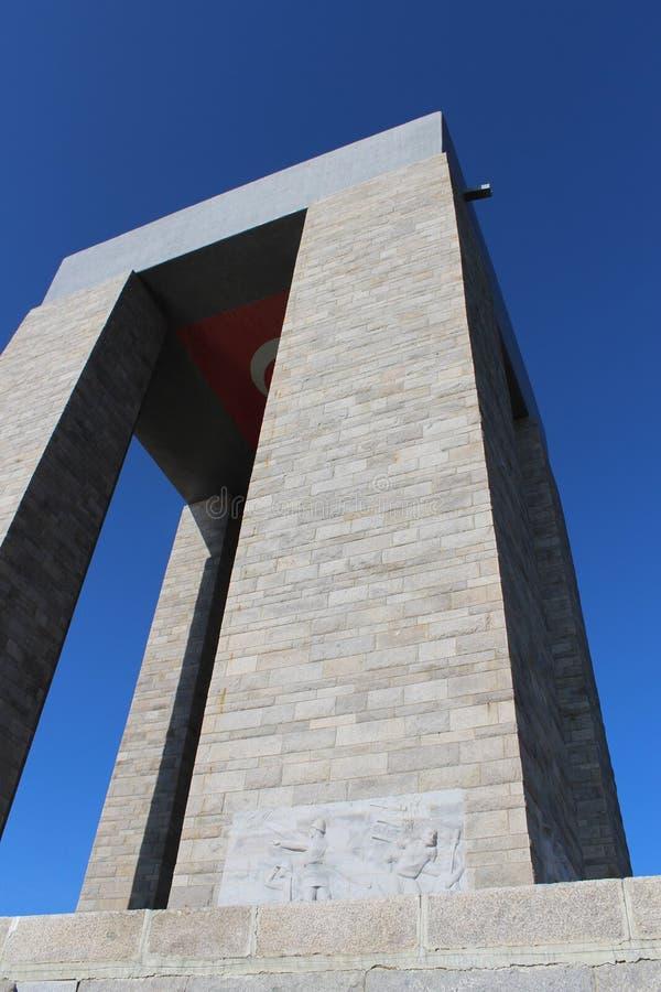 Monument de martyres images libres de droits