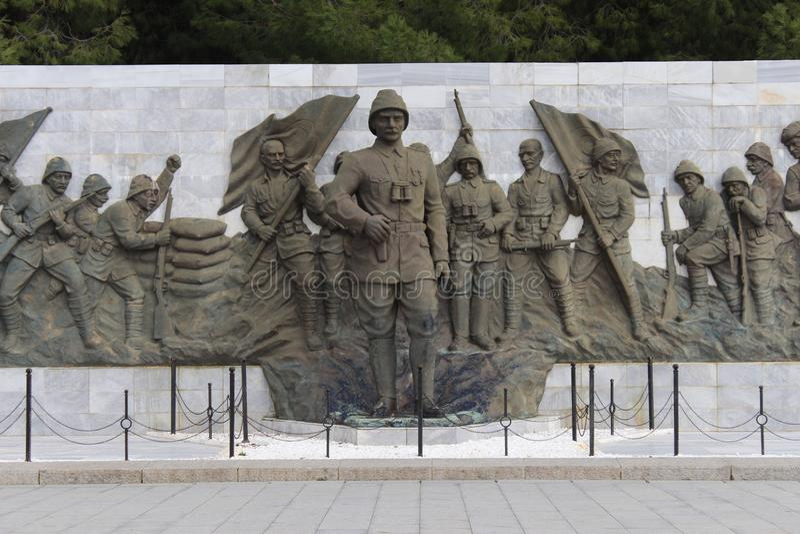 Monument de martyres photos stock