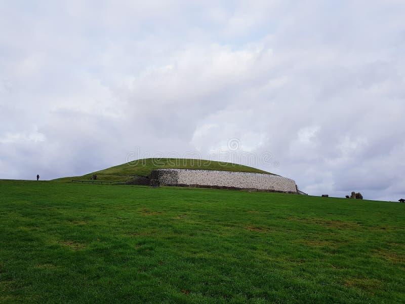 Monument de Newgrange image stock
